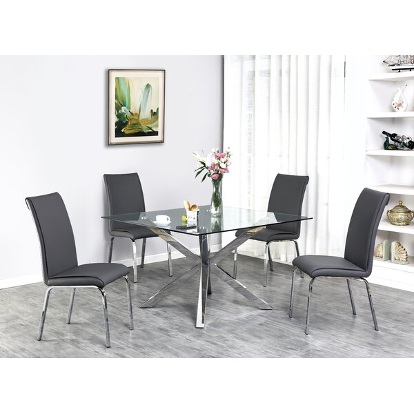 Tompson 5 Piece Dining Set by Wrought Studio