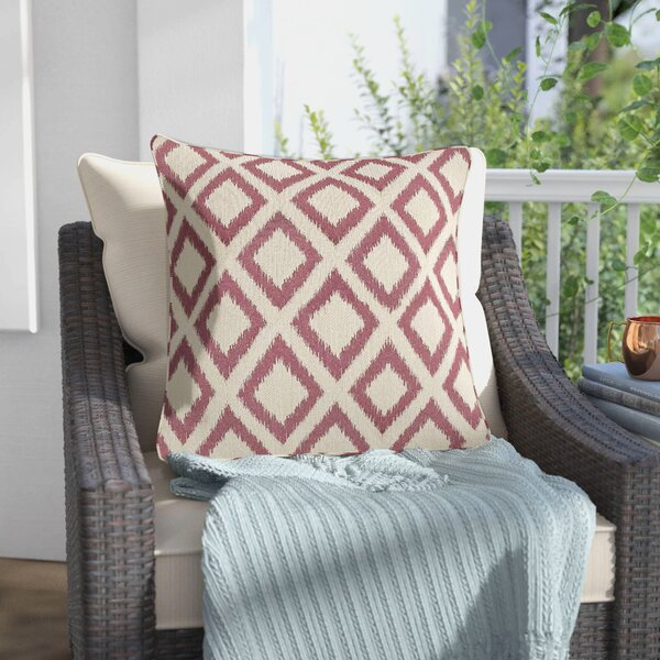 Redbud Outdoor Throw Pillow by Red Barrel Studio