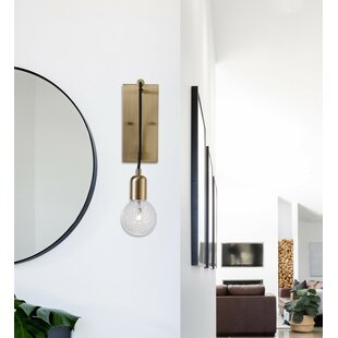 Best Reviews Vanhoy 1-Light Swing Arm Lamp By Wrought Studio