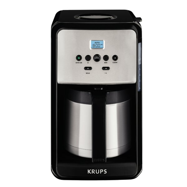 Savoy Programmable Thermal Filter Coffee Machine by Krups