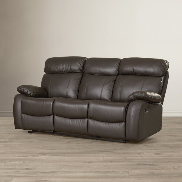 Franciscan Reclining Sofa by Red Barrel Studio