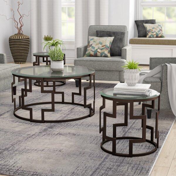 Bolte 3 Piece Coffee Table Set by Brayden Studio