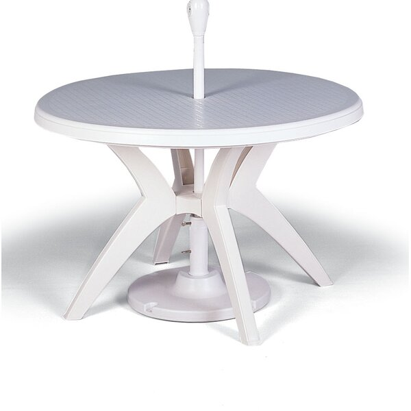 Ibiza Plastic Dining Table by Grosfillex Commercial Resin Furniture Grosfillex Commercial Resin Furniture