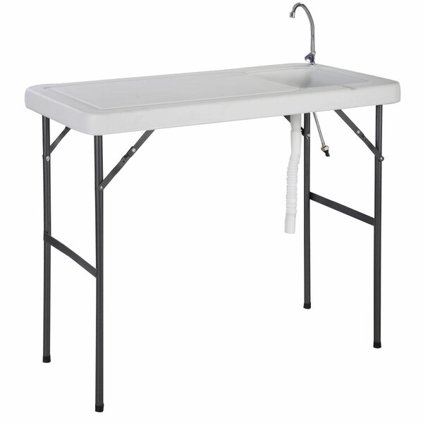 Zurich Folding Camping Table by Ebern Designs