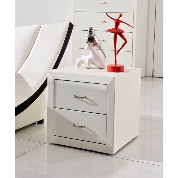 Windell 2 Drawer Nightstand by Ebern Designs