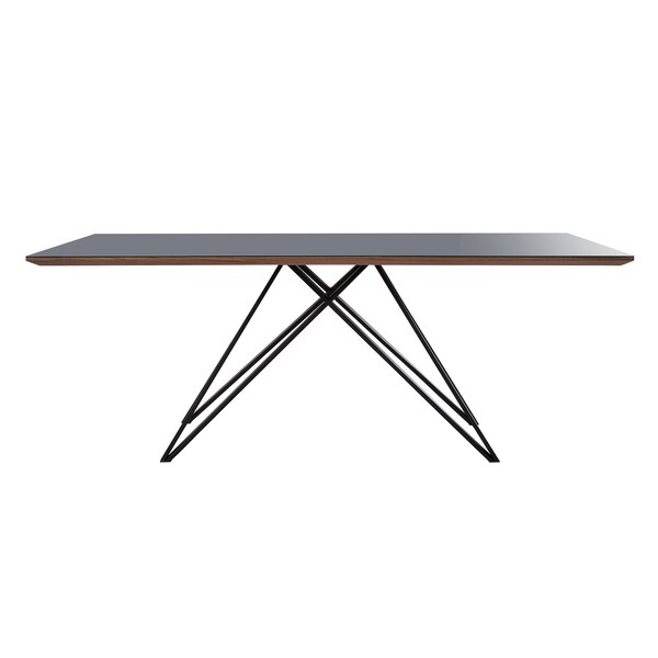 Evelin Mid-Century Dining Table by Orren Ellis Orren Ellis
