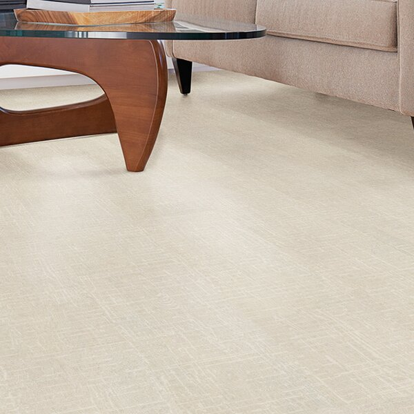 Cork Essence 11-7/11 Cork Flooring in Tweedy SawCut Moon by Wicanders