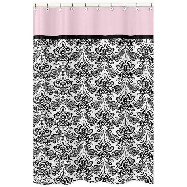 Sophia Cotton Shower Curtain by Sweet Jojo Designs