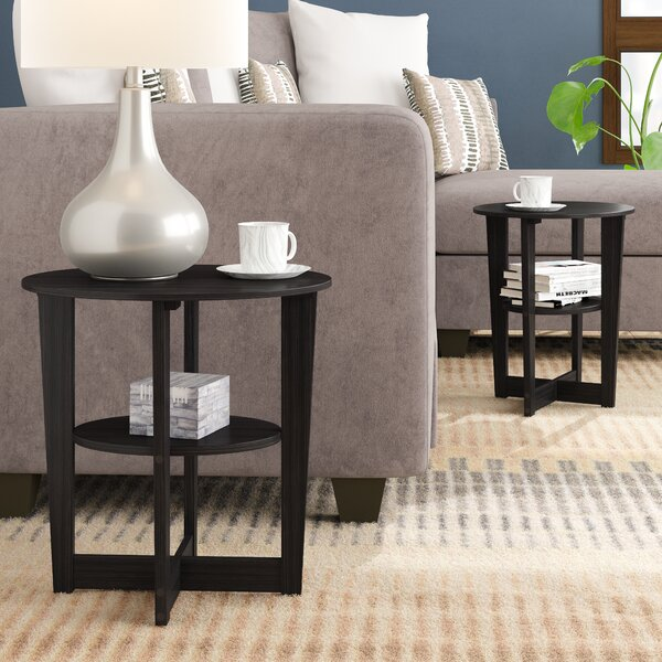 Lansing End Table (Set Of 2) By Ebern Designs