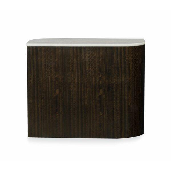 Modern Streamline Block End Table By Caracole Modern