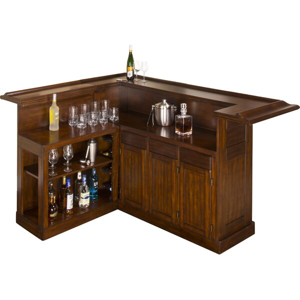 Idlewild Bar with Wine Storage by Darby Home Co Darby Home Co
