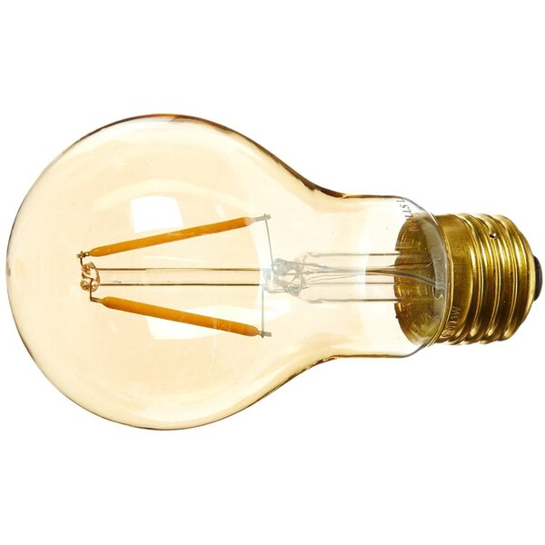 Amber E26 LED Vintage Filament Light Bulb by Edison Mills