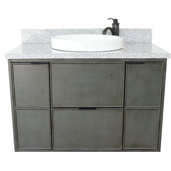 Artigoran 37 Single Wall Mount Vanity by Bloomsbury Market