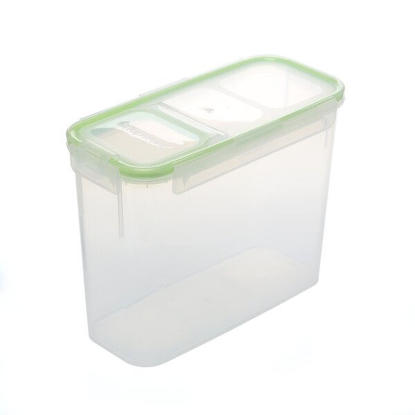 Slim Flip Top Rectangular 88 Oz. Food Storage Container by Snapware
