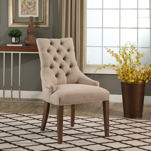 Osterhout Vintage Tufted Arm Chair by One Allium Way
