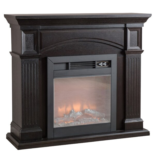 Bradenton Electric Fireplace by Alcott Hill