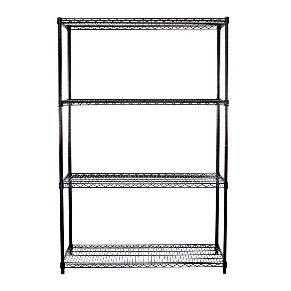 72 H x 48 W 4 Shelf Shelving Unit by Trinity