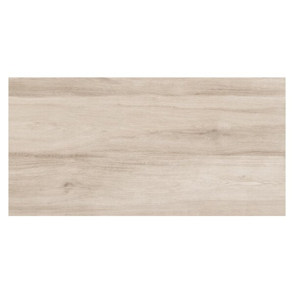 Travel 6 x 48 Porcelain Wood Look Tile in North White by Travis Tile Sales