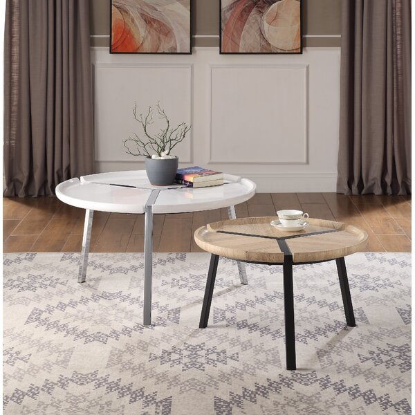 Wessels 2 Piece Coffee Table Set By Wrought Studio
