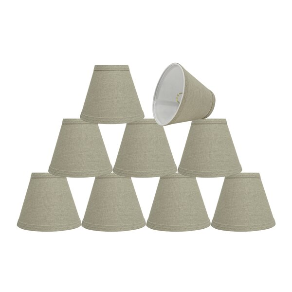 6'' Fabric Empire Lamp Shade (Set of 9) by Rosecliff Heights