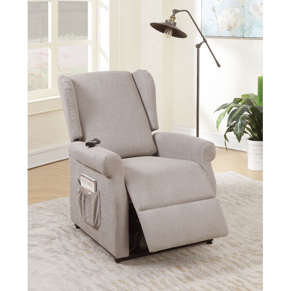 Lippa 20.5'' Power Lift Assist Recliner By Red Barrel Studio