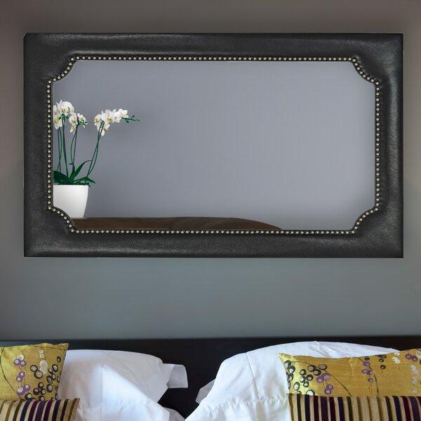 Rectangular Wood Framed Wall Mirror by Majestic Mirror