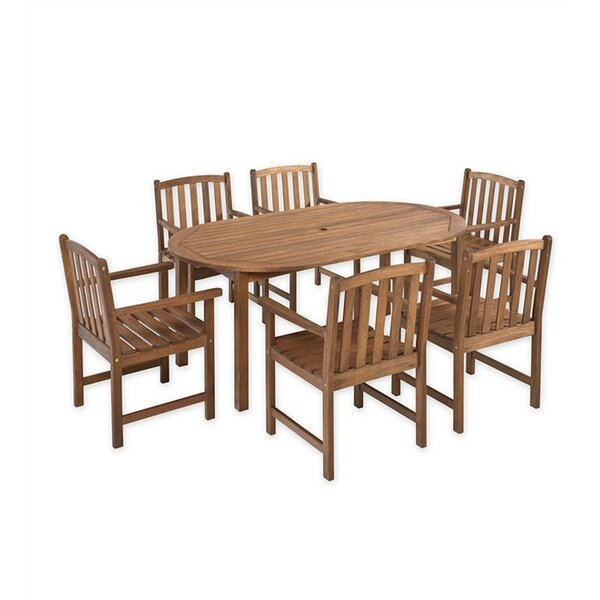 Lancaster 7 Piece Dining Set by Plow & Hearth