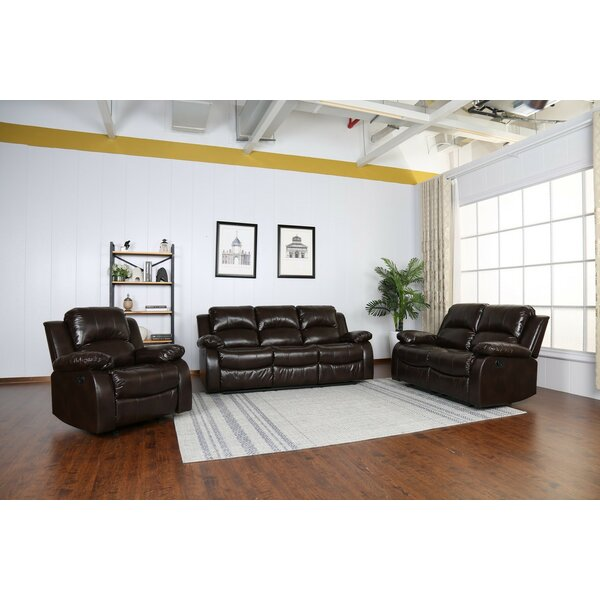 Paramount 3 Piece Reclining Living Room Set By Red Barrel Studio