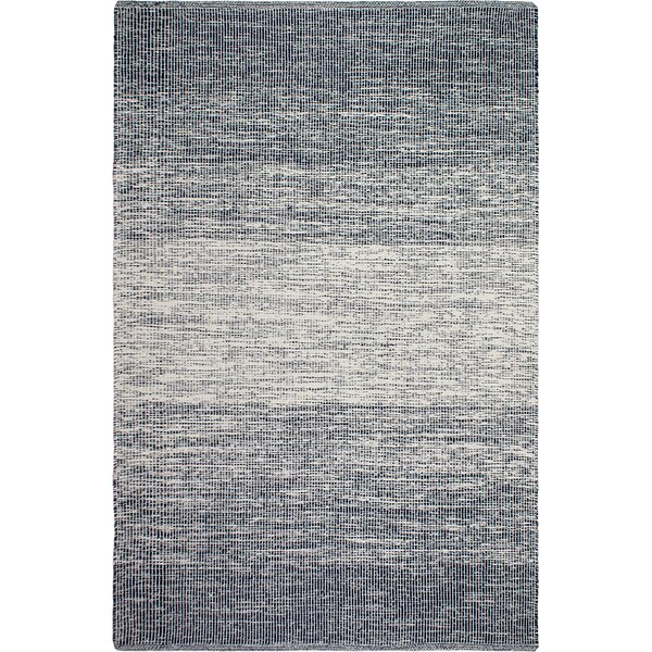 Zen Hand-Woven Blue/Gray Area Rug by Fab Habitat