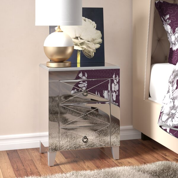 Linnea End Table with Storage by Willa Arlo Interiors
