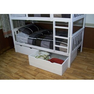 Affordable Mission Loft Bed with Trundle and Drawers By A&L Furniture