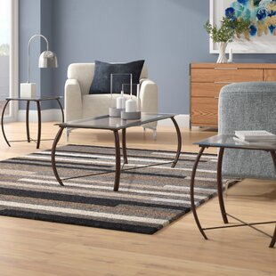 Affordable Price Kristie 3-Piece Coffee Table Set ByZipcode Design