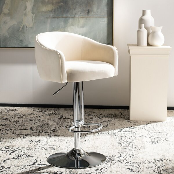 Centerville Adjustable Height Bar Stool by Orren Ellis