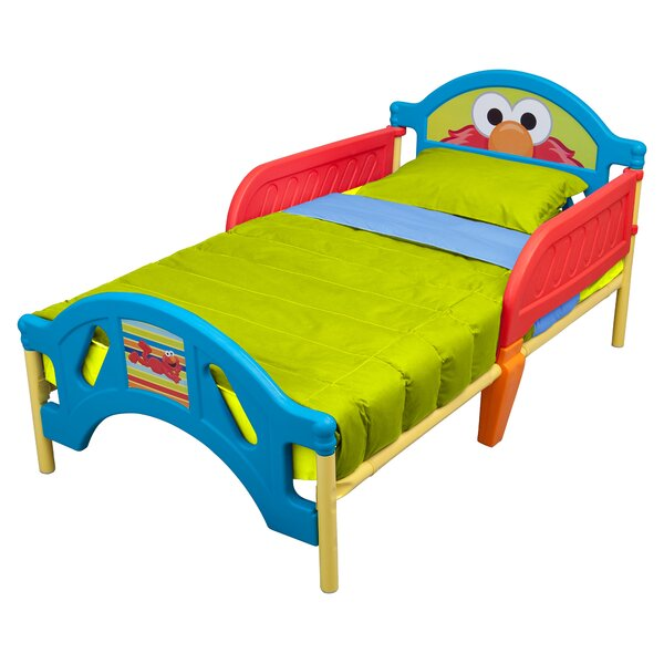 Sesame Street Convertible Toddler Bed by Delta Children