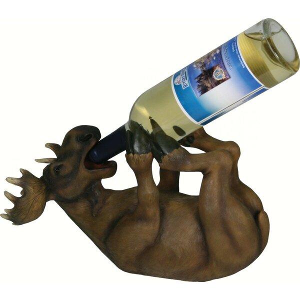Severn Moose 1 Tabletop Wine Bottle Rack by Millwood Pines