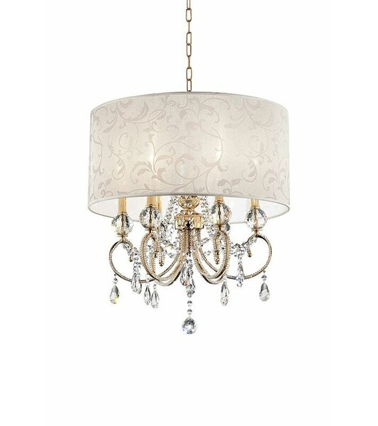 Queensway Barocco 6-Light Chandelier by Rosdorf Park