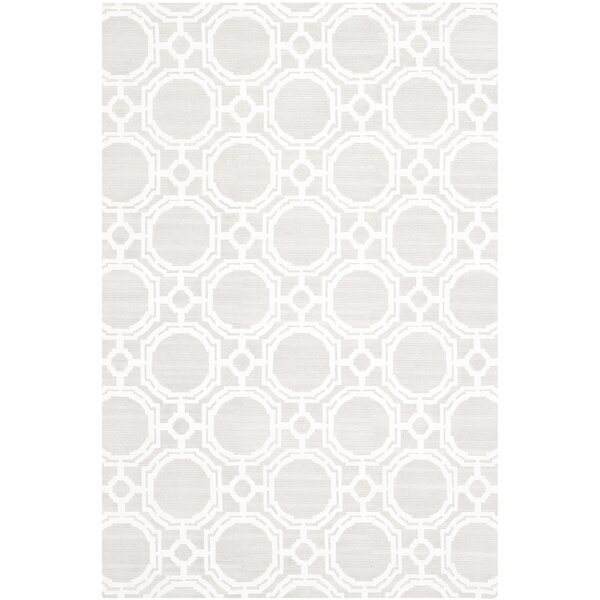 Badillo Hand-Knotted Ivory Area Rug by Darby Home Co