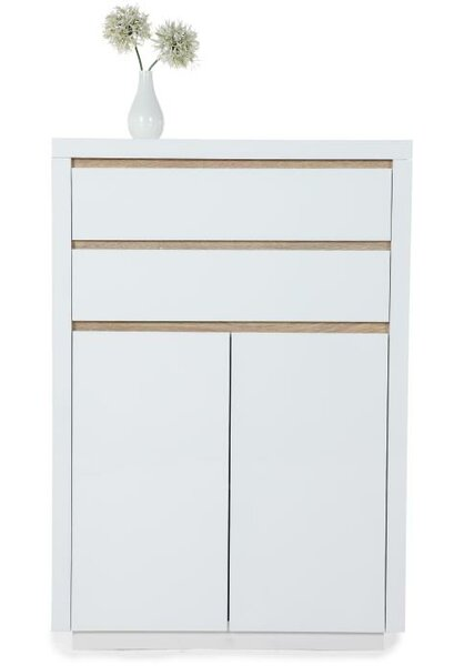 Solina 2 Drawer, 2 Door Highboard Accent Cabinet by Phoenix Group AG