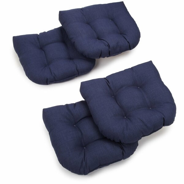 Indoor/Outdoor Chair/Rocker Cushion (Set of 4) by Blazing Needles