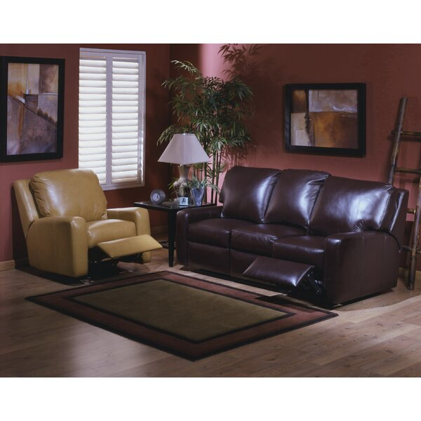 Mirage Reclining Leather Configurable Living Room Set by Omnia Leather Omnia Leather