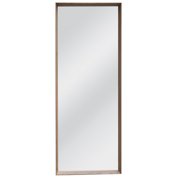 Solid Oak Full Length Wall Mirror by BIDKhome