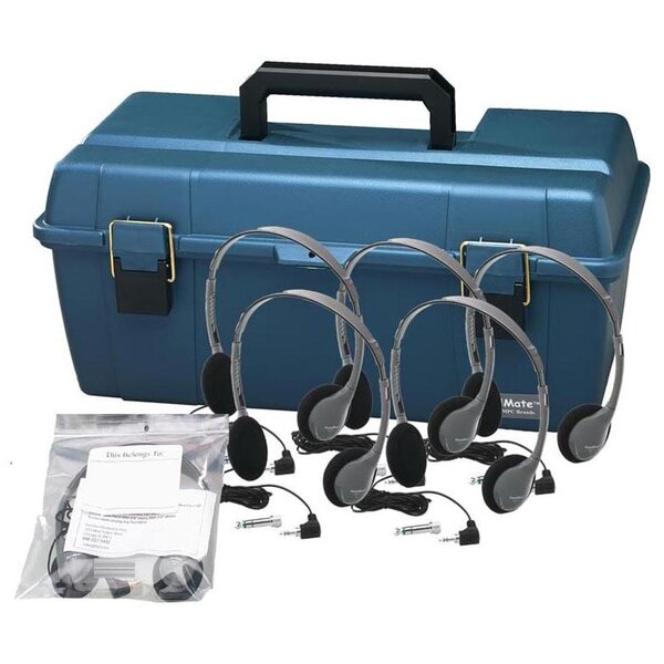 Personal Headset Lab Pack with Carry Case by Hamilton Buhl