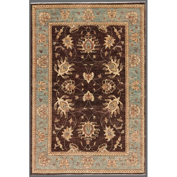 Ferehan Brown/Blue Traditional Area Rug by Pasargad