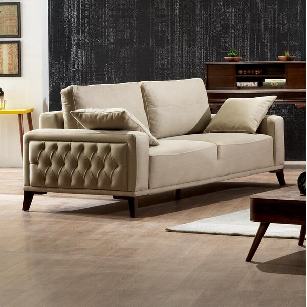Danos Futon Loveseat by Brayden Studio