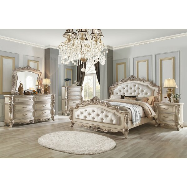 Decatur Upholstered Standard Configurable Bedroom Set by Rosdorf Park