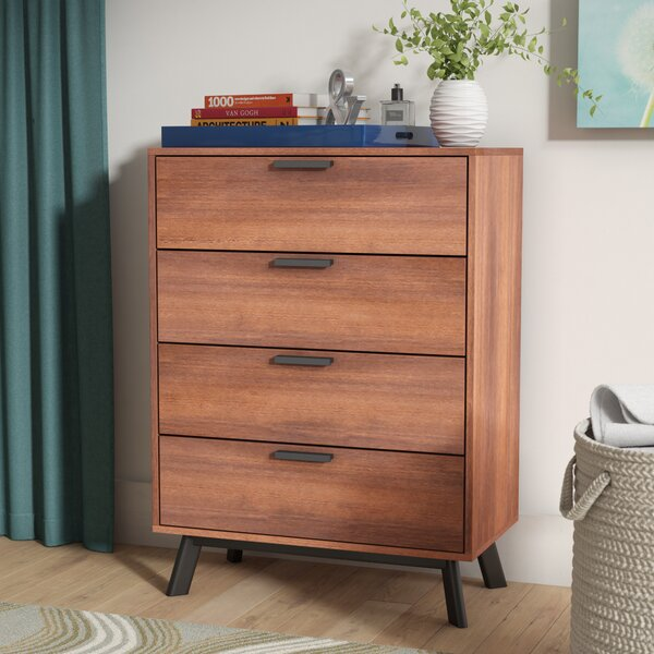 Sheyla 4 Drawer Chest by Zipcode Design
