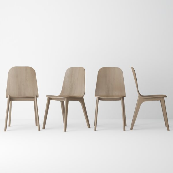 Kassandra Solid Wood Dining Chair (Set of 2) by Corrigan Studio