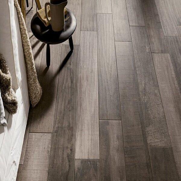 Blu Country 8 x 48 Porcelain Wood look Wall & Floor Tile