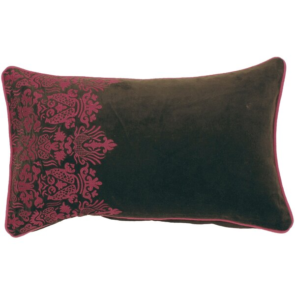 Remaley Smooth Suzani Cotton Lumbar Pillow by Bloomsbury Market
