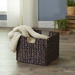Charmant Banana Leaf Woven Basket